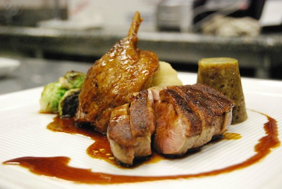 Cadet Hotel: Rack of Lamb