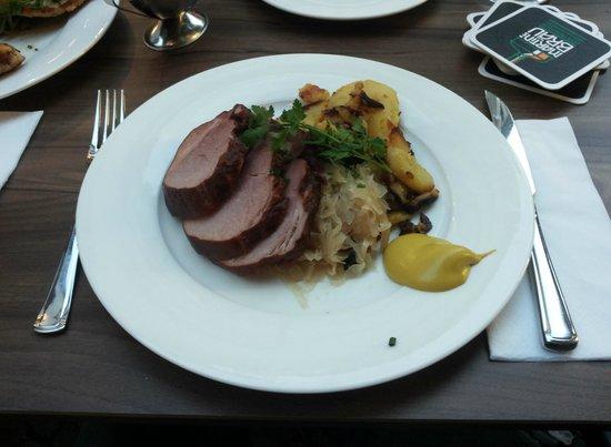 Martin's Bräu: spalla