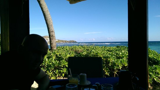 The Palms at Pelican Cove: Breakfast view