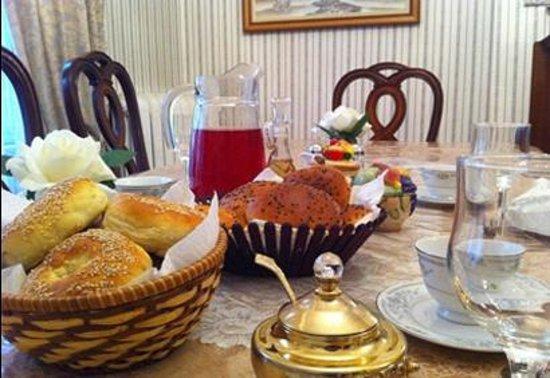 B & B Saint-Louis: Petits-déjeuners santé tous les matins