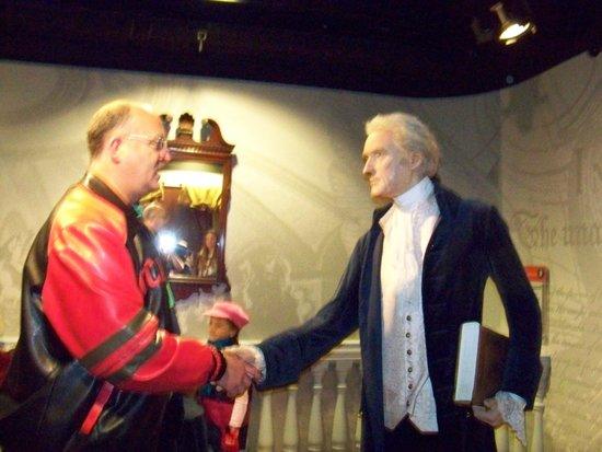 Madame Tussauds Washington D.C. : Jefferson