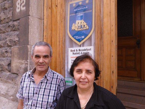 B & B Saint-Louis: Ahmed et Salouha
