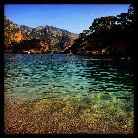 Plage d'Oludeniz (Lagon bleu) : Paradise