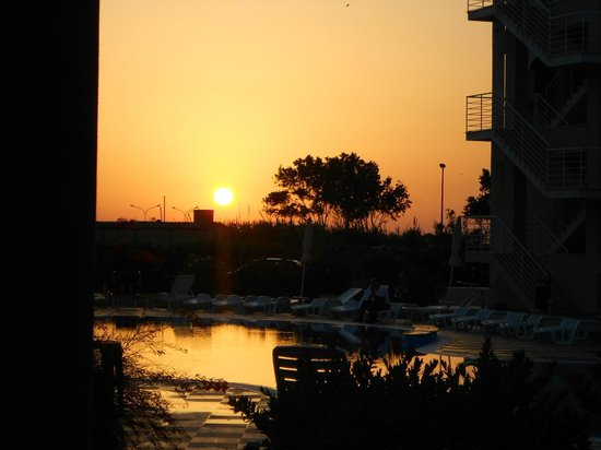 Temesa Village: Il tramonto