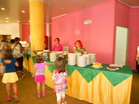 Temesa Village: Il pranzo