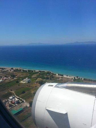 Irene Palace Beach Resort: Atterraggio a Rodi !!!!!