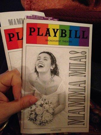 Mamma Mia! on Broadway: Musical time
