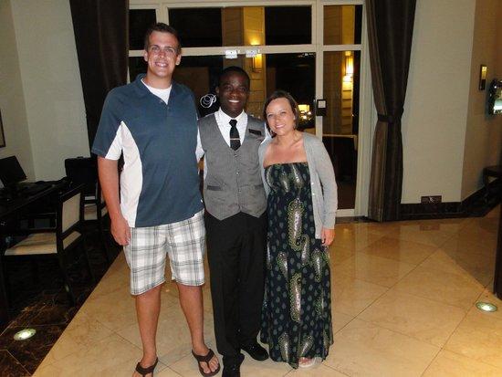 Secrets St. James Montego Bay: Our amazing Butler, Travis