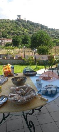 Villa Maredona: Colazione panoramica
