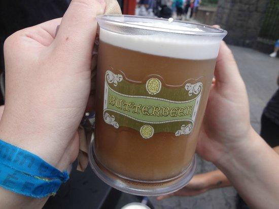 Universal's Islands of Adventure : cerveja amanteigada