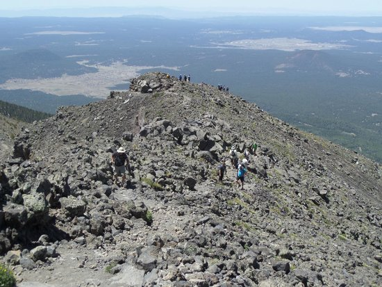 Humphrey's Peak: above the tree line