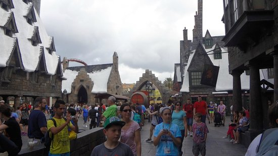 Universal's Islands of Adventure : área do Harry Potter