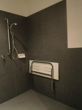 Aaman & Cinta Luxury Guesthouse & Villas: Barrier free shower area