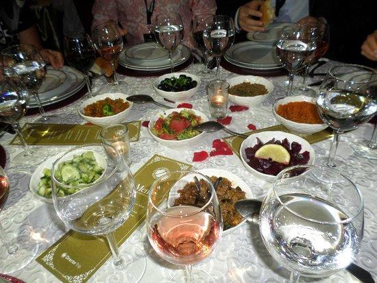Hotel Du Golf: Торжественный ужин на уровне