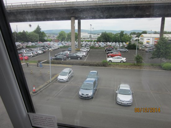 Premier Inn Glasgow Airport: view from room