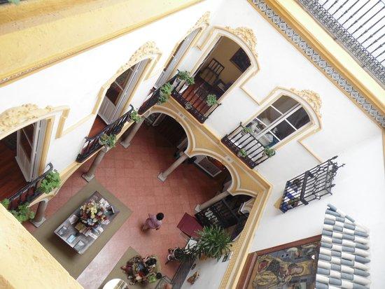 Hotel Abanico Sevilla: coorte dal 2° piano