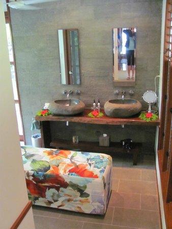 Qamea Resort And Spa Fiji: Civa's bathroom