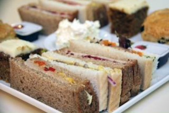 Delicious: Sandwiches from our afternoon tea selection