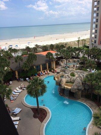 "Hampton Inn Jacksonville Beach/Oceanfront : ""Partial Ocean View"" - 7th Floor"