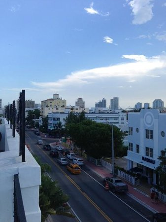 The President Hotel - Miami Beach: View from Penthouse Deck