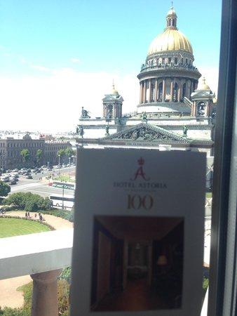 Astoria Hotel: Вид из номера