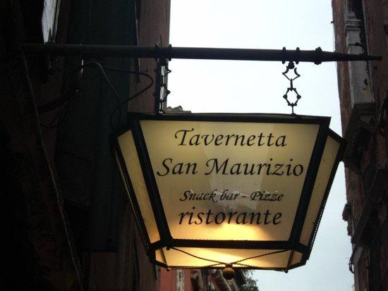 Tavernetta San Maurizio : Indicação externa