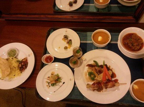 Amaya Hunas Falls: Yummy dinner