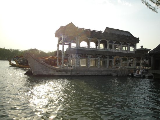Catherine Lu Tours: The Marble Boat