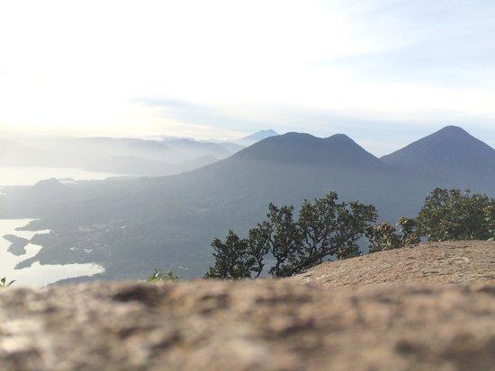 Volcan San Pedro : Vista desde la cima de volcán San Pedro