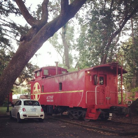 Featherbed Railroad Bed & Breakfast Resort: Our Wild Wild West Caboose