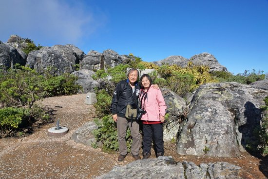 at Table Mountain