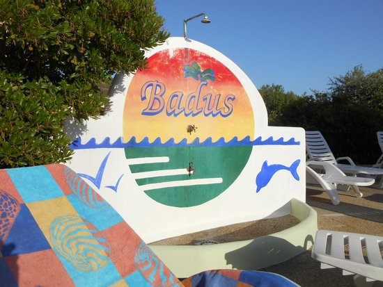 Badus: Docce piscina
