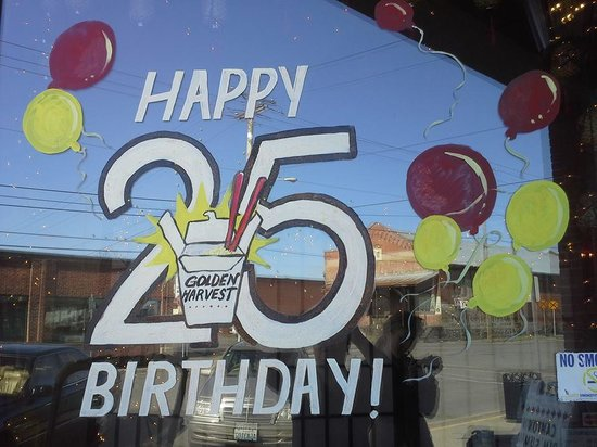 Golden Harvest Restaurant: We have been serving Union County for 25 years!