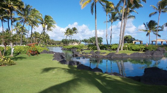 Grand Hyatt Kauai Resort & Spa: Saltwater lagoon