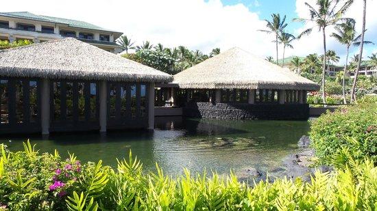 Grand Hyatt Kauai Resort & Spa: Tidepools restaurant.