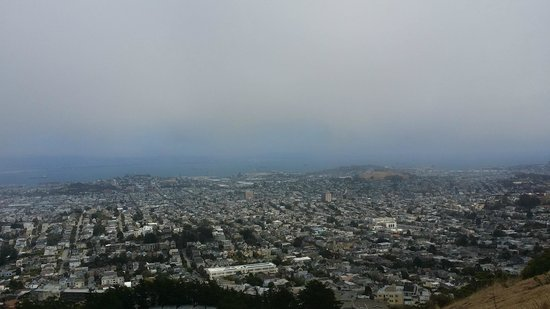 Twin Peaks: Big views - better on clear day - but good anytime