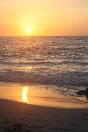 Manini'owali Beach (Kua Bay) : Sunset