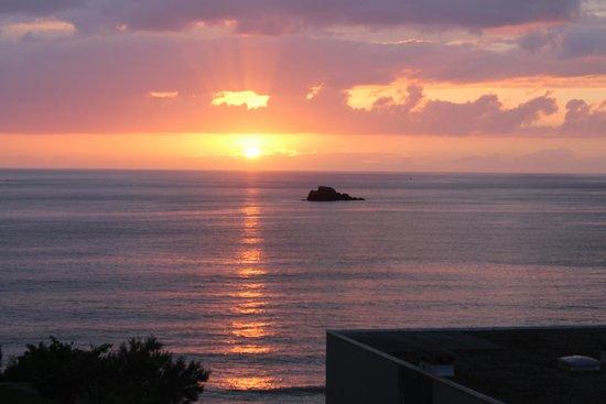 Residence Reine Marine : Vue mer latérale