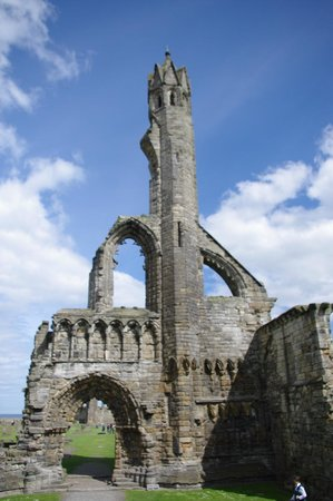 St Andrews Cathedral: A beautiful part of the ruin