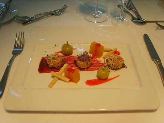 H10 Playa Meloneras Palace: Voorgerecht Gaudi restaurant