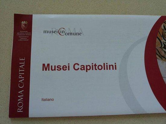 Musées du Capitole : Mappa Musei Capitolini