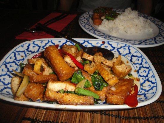 Bird Thai Restaurant: Tofu with vegetables