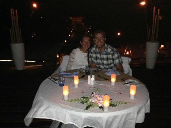 Maafushivaru: private dinner