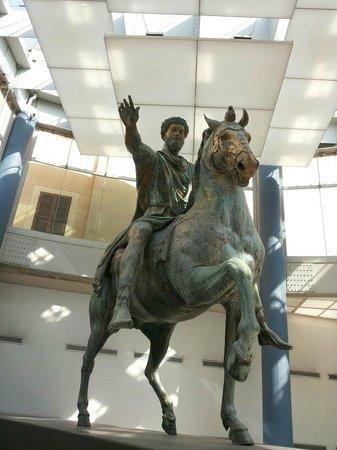 Musées du Capitole : Statua equestre di Marco Aurelio