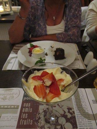FAB Fusion: strawberry dessert
