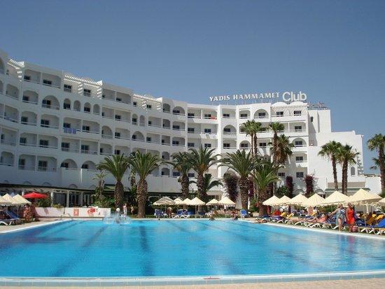 Yadis Hammamet: vista dell'hotel