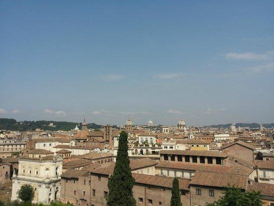 Musées du Capitole : Vista dalla terrazza panoramica