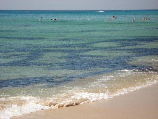 Eden Village Yadis Hammamet : spiaggia con sabbia bianca e fine
