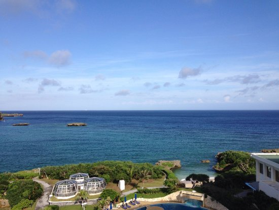 ANA InterContinental Manza Beach Resort: 无敌的海景