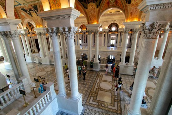 The Main Floor of The Library of Congress